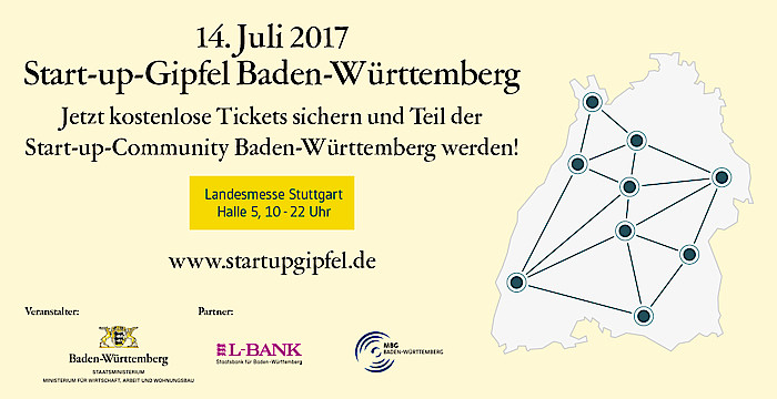 Start-up-Gipfel BW
